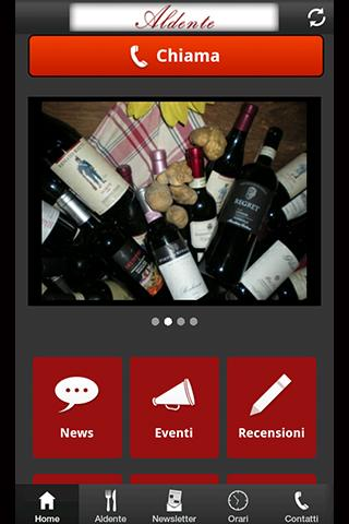 Aldente App- screenshot