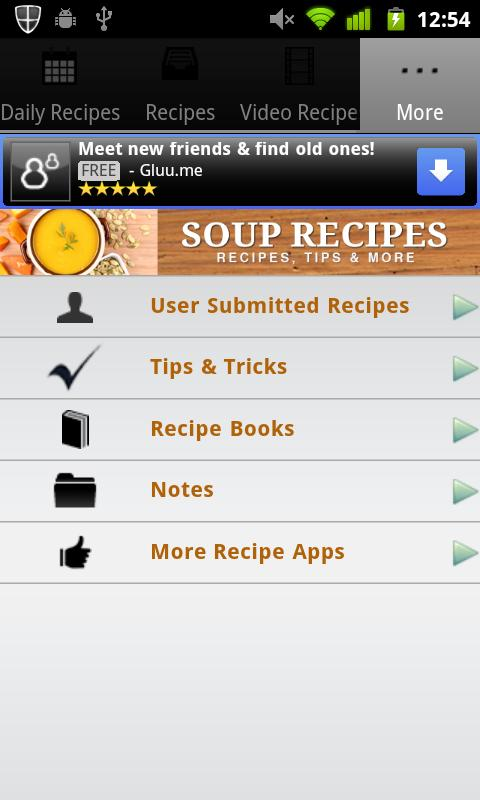 Soup Recipes!- screenshot