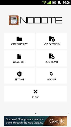 Simple memo pad - Nooote Free