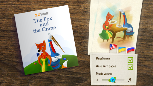 ZZ Tale: The Fox and the Crane
