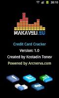 Screenshot of Credit Card Cracker