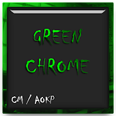 Green Chrome CM11 AOKP Theme