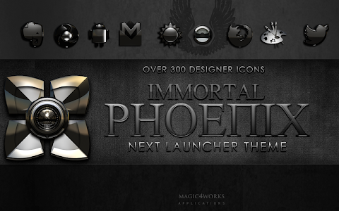 Next Launcher Theme Phoenix v2.40
