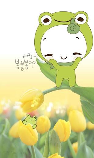 돌콩 봄봄봄 카카오톡 테마