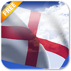 3D England Flag Live Wallpaper icon