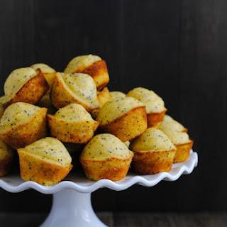 Lemon-Poppyseed Cornbread Mini Muffins.