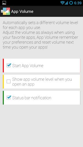 App Volume FULL