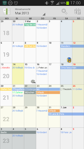 Personal Calendar Kalender
