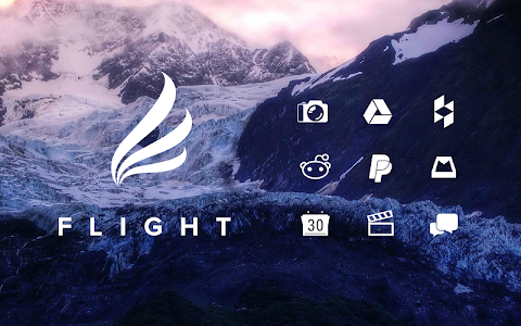 Flight - Flat Minimalist Icons v2.0.3