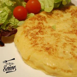 Light Spanish Tortilla.