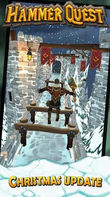 Hammer Quest - Runner RPG - screenshot