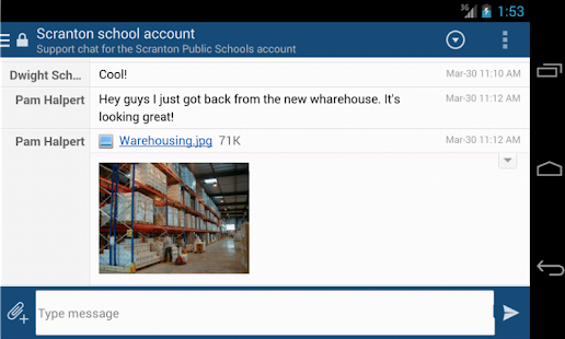 HipChat Beta - screenshot thumbnail