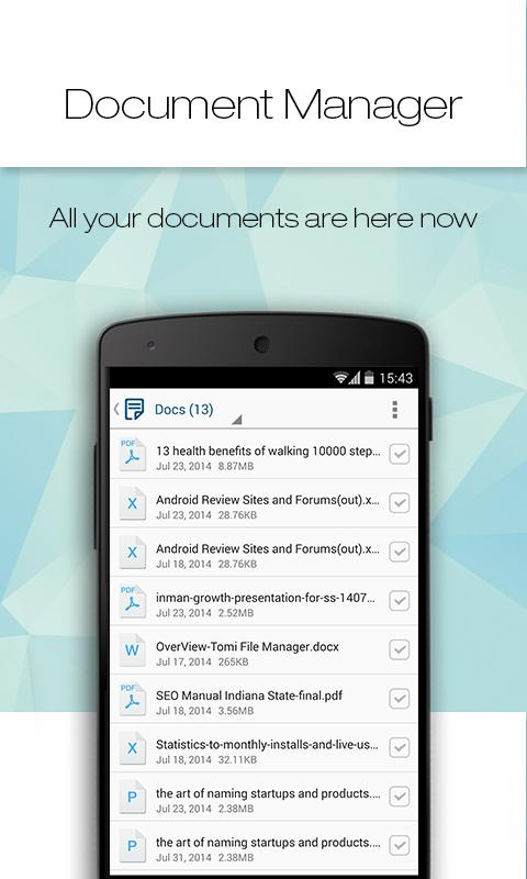 Tomi File Manager (Explorer) - screenshot