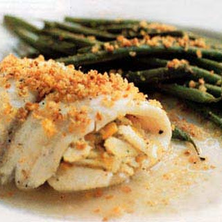 Crab-Meat-Stuffed Sole.