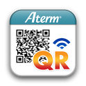 AtermらくらくQRスタート for Android icon