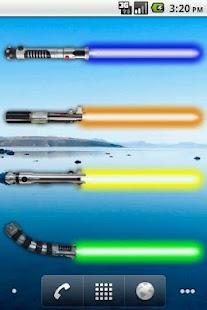Battery Widget Lightsaber Full- screenshot thumbnail
