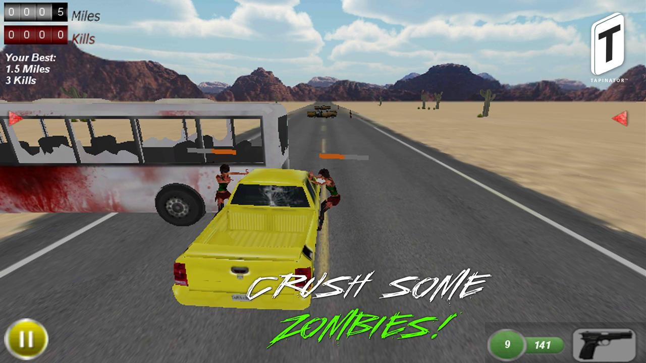 Drive with Zombies 3D - screenshot