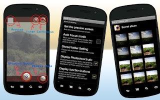 Screenshot of Noiseless Sol-e Camera Lite