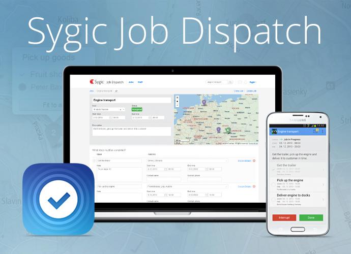 Sygic Job Dispatch - screenshot