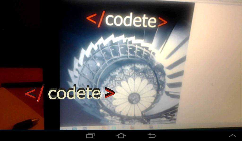 Augmented Reality Codete.co- screenshot