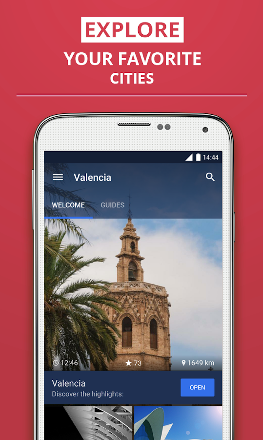 Valencia Travel Guide- screenshot
