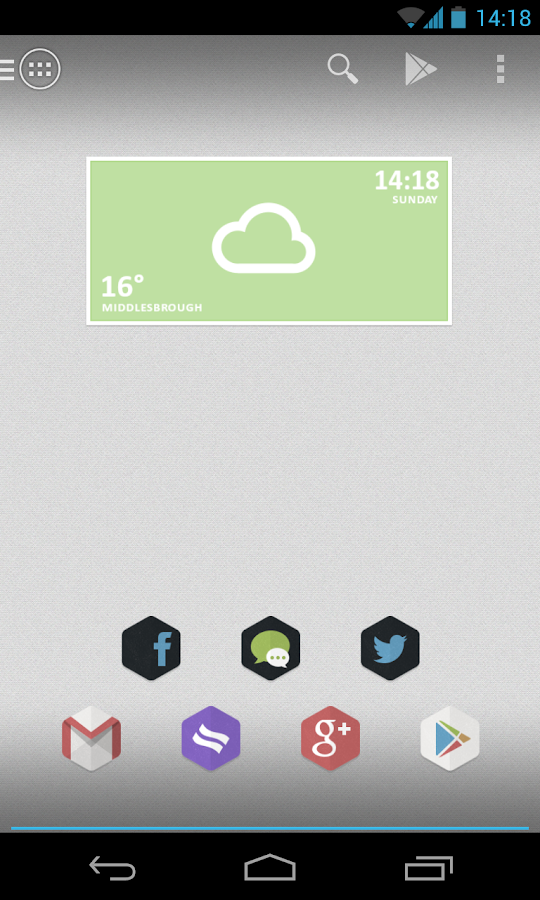 Hexacon - Icon Pack - screenshot