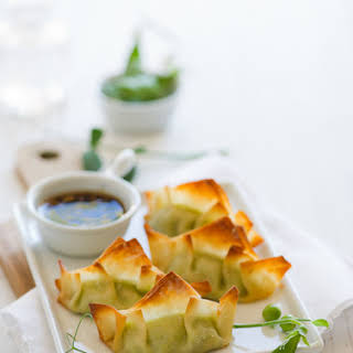 Sweet Pea Pot Stickers.