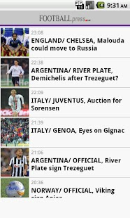 Football Press - screenshot thumbnail