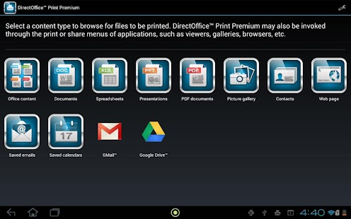 DirectOffice™ Print Premium - screenshot thumbnail