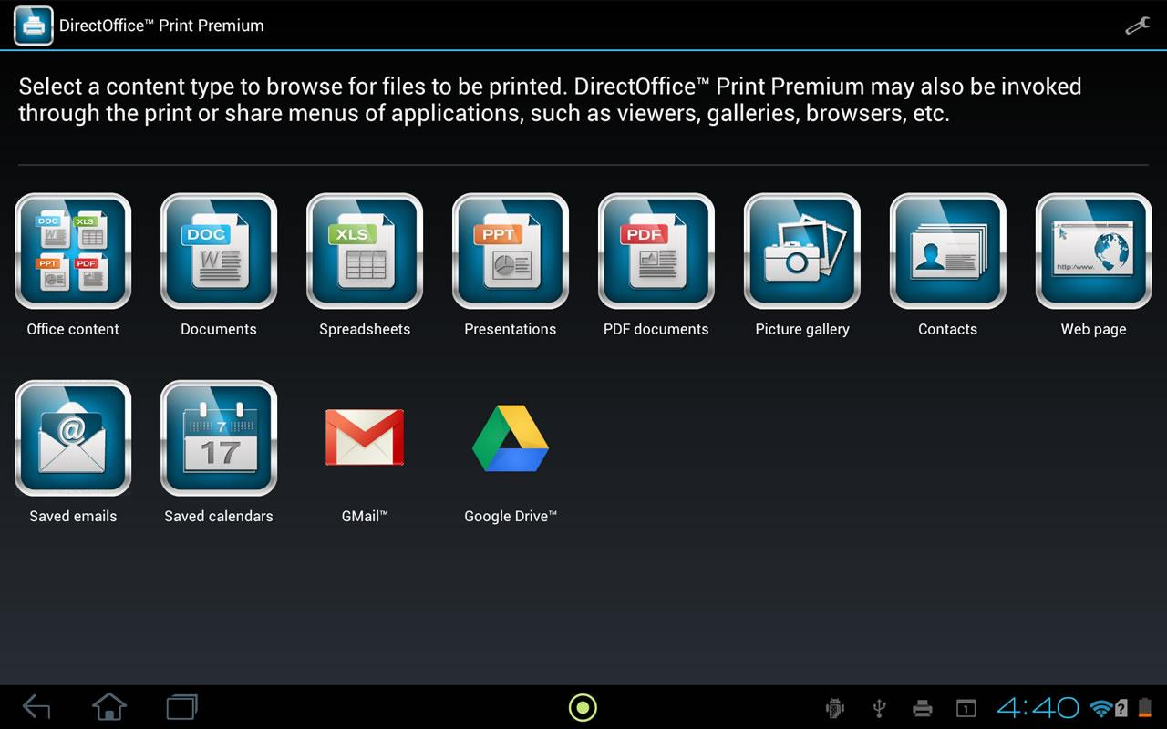 DirectOffice™ Print Premium - screenshot