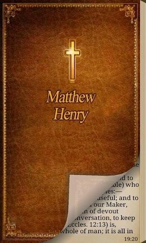 Matthew Henry Commentary Pro Screenshot