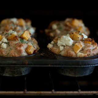 Pumpkin and Feta Muffins.
