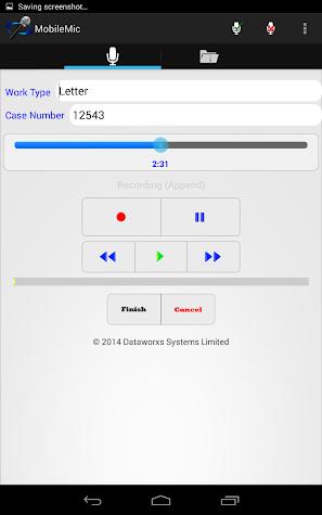 MobileMic Screenshot