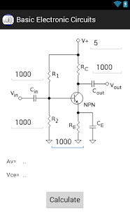Basic Electronic Circuits Calc- screenshot thumbnail