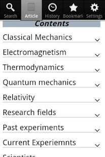 Physics Encyclopedia
