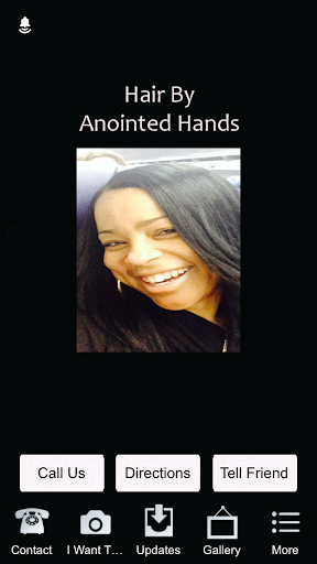 【免費商業App】Hair By Anointed Hands-APP點子