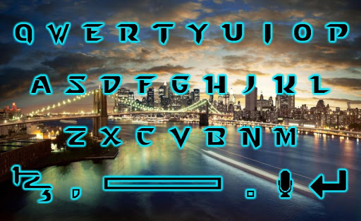 【免費娛樂App】Sunset City Keyboard Design-APP點子