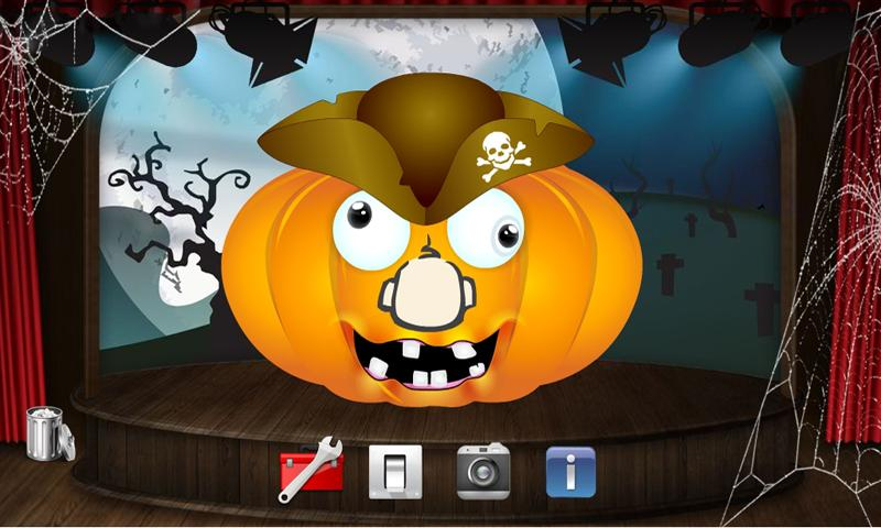 Halloween Pumpkin Maker Game- screenshot