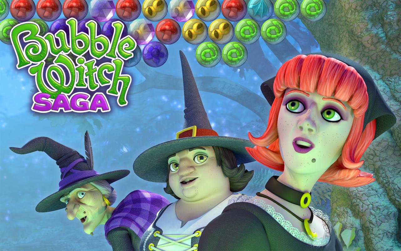 bubble witch saga spielen