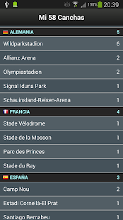 Groundhopper - Fútbol Live Screenshot