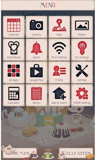 Alice's Tea Party Wallpaper 1.2 Windows u7528 2