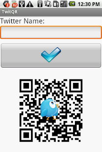 TwitQR- screenshot thumbnail