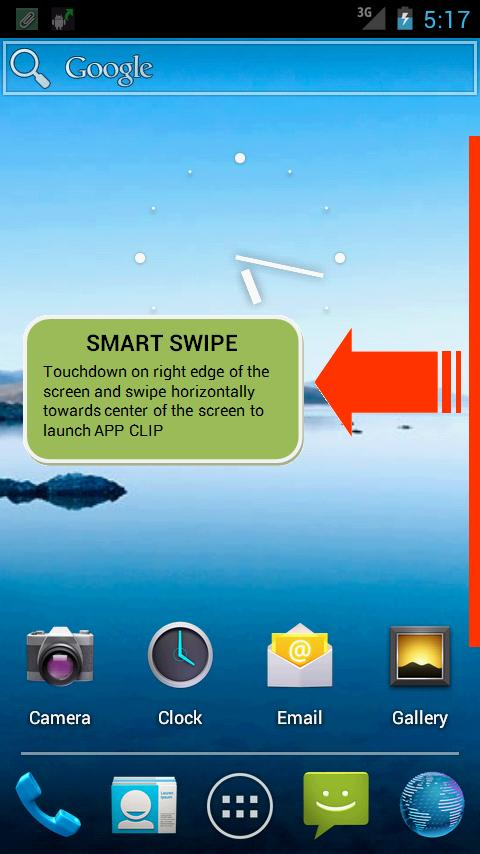 APP CLIP - Smart Launcher- screenshot