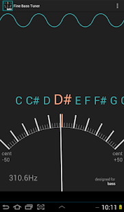 Fine Bass Tuner- screenshot thumbnail