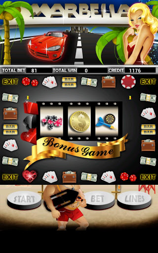Marbella Slot Machine HD Screen Capture 3