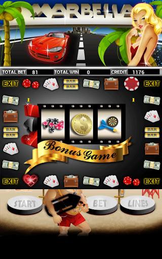 Marbella Slot Machine HD Screen Capture 3