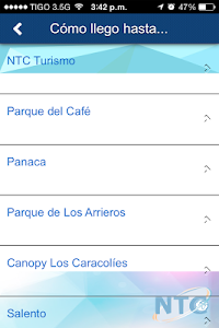 Aviatur NTC screenshot 3
