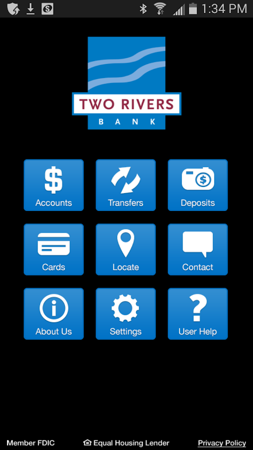 Two Rivers Bank- screenshot