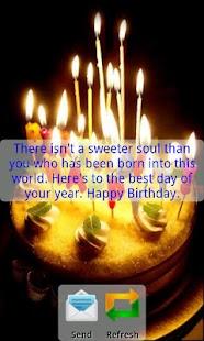 Happy birthday- screenshot thumbnail