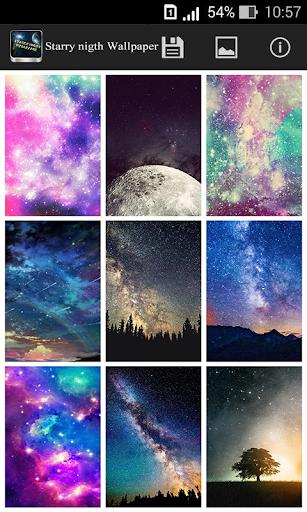 繁星满天的夜晚壁纸